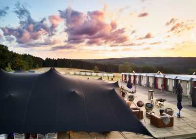 Pop Up hotel Flexotels near Spa Franchorchamps