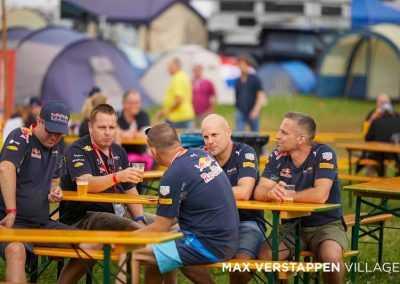 max verstappen fans at max verstappen flexotel village
