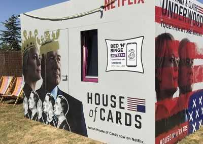 Netflix pop up hotel 1
