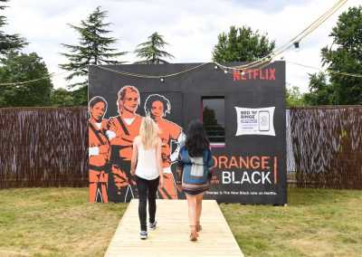 Netflix pop up hotel room