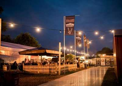 Flexotels luxury camping at Wacken Open Air